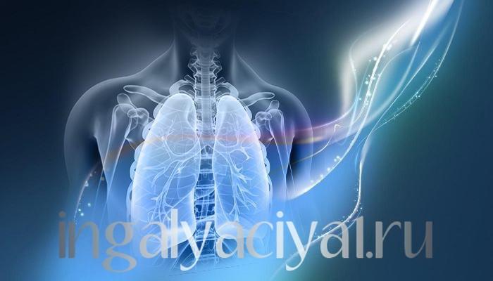 Ингаляция при пневмонии